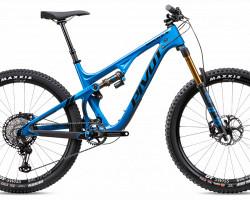 Testbike Pivot Mach 5.5 L blue, Pro XT / XTR, Factory DPX2