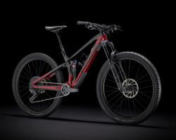 Trek Fuel EX 9.8 GX, Raw Carbon/Rage Red