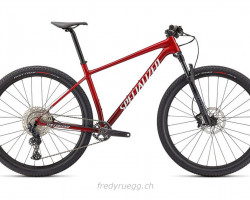 """SPECIALIZED CHISEL COMP 29\"""" S ROTBRUSHED WEISS"""