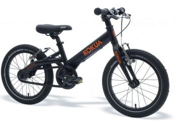 """Kindervelo, Kokua, Like to Bike 16"""", V-Brakes, schwarz, 16"""", Seriennummer: AA60623604"""