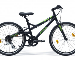"Kindervelo, Kokua, Like to Bike 24"", schwarz/kiwi, 24"", Seriennummer: AA50803836"