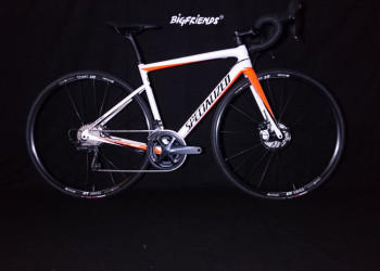 Specialized Mens Tarmac Disc Comp WhSil/RoRe/TarBlck