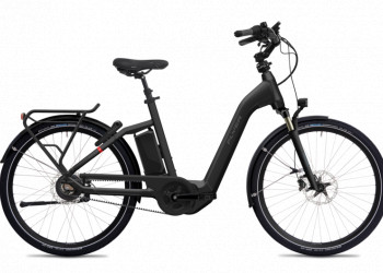 Flyer Gotour4 7.03 S Tiefeinsteiger Pearl Black Gloss  STB 630WH  D0 GX Ultimate