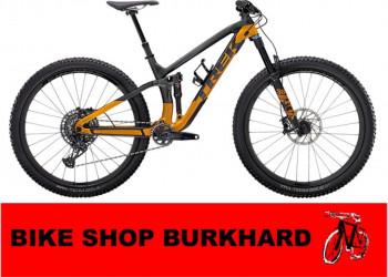 """Trek Fuel EX 9.8 GX XL (29"""""""" wheel) Lithium Grey/Factory Orange"""