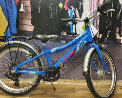 Puky Fahrrad Crusader 20-6 ALU blau